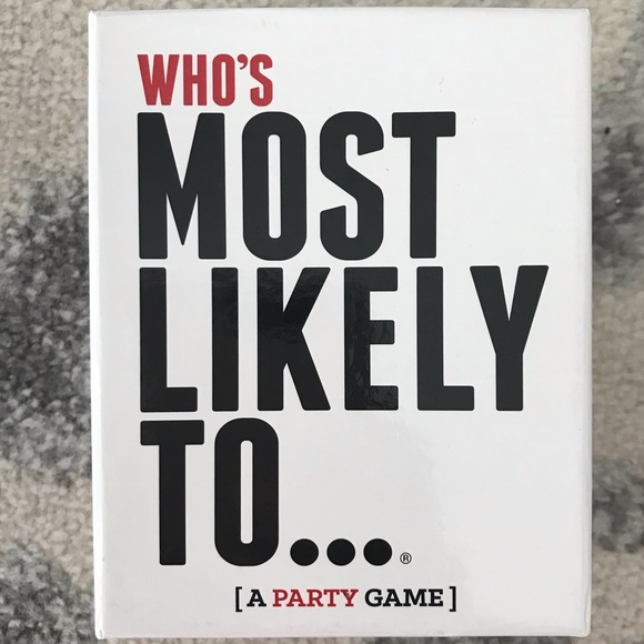 Who's Most Likely To- A Party Game!